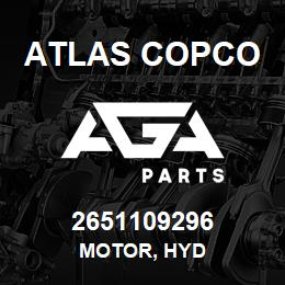 2651109296 Atlas Copco MOTOR, HYD | AGA Parts