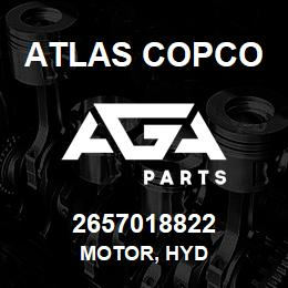 2657018822 Atlas Copco MOTOR, HYD | AGA Parts