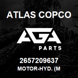 2657209637 Atlas Copco MOTOR-HYD. (M | AGA Parts