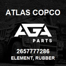 2657777286 Atlas Copco ELEMENT, RUBBER | AGA Parts