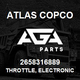 2658316889 Atlas Copco THROTTLE, ELECTRONIC- C.AT | AGA Parts