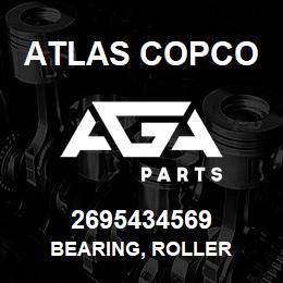 2695434569 Atlas Copco BEARING, ROLLER | AGA Parts