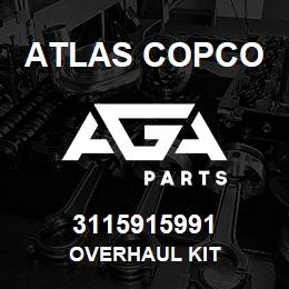 3115915991 Atlas Copco OVERHAUL KIT | AGA Parts