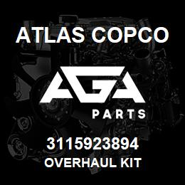 3115923894 Atlas Copco OVERHAUL KIT | AGA Parts
