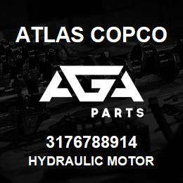 3176788914 Atlas Copco HYDRAULIC MOTOR | AGA Parts