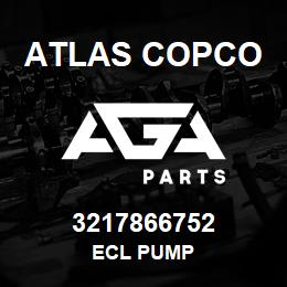 3217866752 Atlas Copco ECL PUMP | AGA Parts