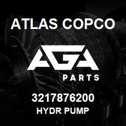 3217876200 Atlas Copco HYDR PUMP | AGA Parts