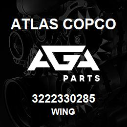 3222330285 Atlas Copco WING | AGA Parts