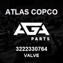 3222330764 Atlas Copco VALVE | AGA Parts