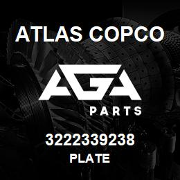 3222339238 Atlas Copco PLATE | AGA Parts