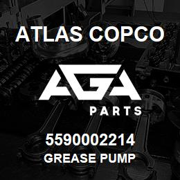 5590002214 Atlas Copco GREASE PUMP | AGA Parts