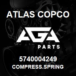 5740004249 Atlas Copco COMPRESS.SPRING | AGA Parts