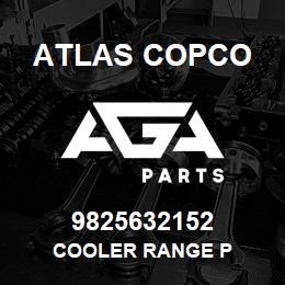 9825632152 Atlas Copco COOLER RANGE P | AGA Parts