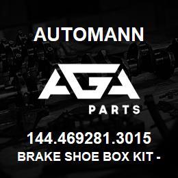 144 469281 3015 Brake Shoe Box Kit - FMSI 4692 (12 25