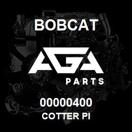 00000400 Bobcat COTTER PI