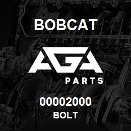 00002000 Bobcat BOLT | AGA Parts