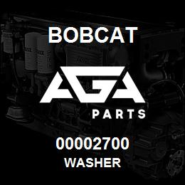 00002700 Bobcat WASHER