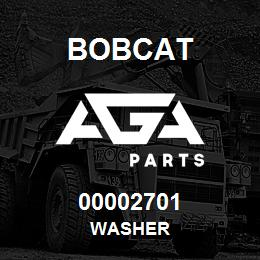 00002701 Bobcat WASHER