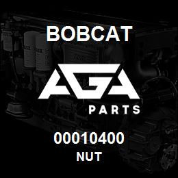 00010400 Bobcat NUT | AGA Parts