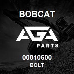 00010600 Bobcat BOLT | AGA Parts