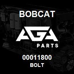 00011800 Bobcat BOLT | AGA Parts