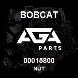 00015800 Bobcat NUT | AGA Parts
