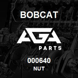 000640 Bobcat NUT | AGA Parts