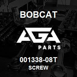 001338-08T Bobcat SCREW | AGA Parts