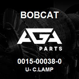 0015-00038-0 Bobcat U- C.LAMP | AGA Parts