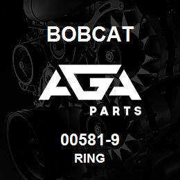 00581-9 Bobcat RING | AGA Parts