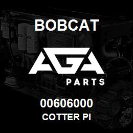 00606000 Bobcat COTTER PI
