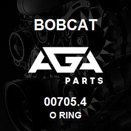 00705.4 Bobcat O RING | AGA Parts