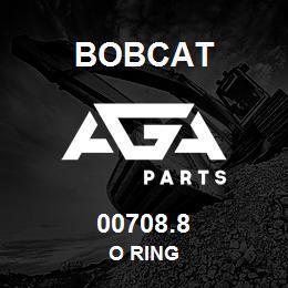 00708.8 Bobcat O RING | AGA Parts