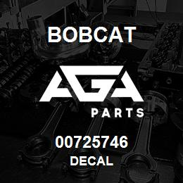 00725746 Bobcat DECAL