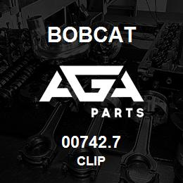 00742.7 Bobcat CLIP   AGA Parts