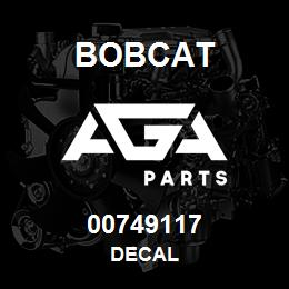 00749117 Bobcat DECAL