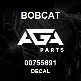 00755691 Bobcat DECAL