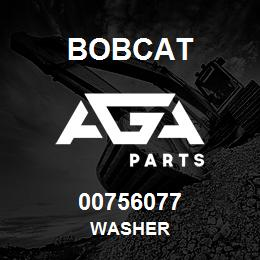 00756077 Bobcat WASHER | AGA Parts