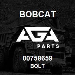 00758659 Bobcat BOLT | AGA Parts