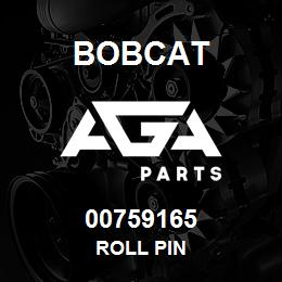 00759165 Bobcat ROLL PIN | AGA Parts
