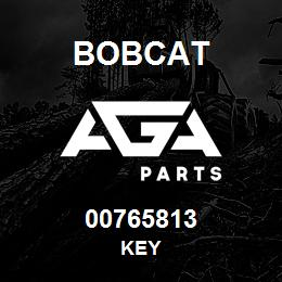 00765813 Bobcat KEY | AGA Parts