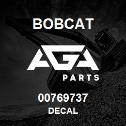 00769737 Bobcat DECAL