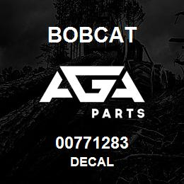 00771283 Bobcat DECAL