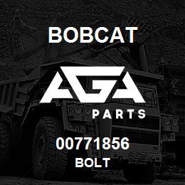 00771856 Bobcat BOLT | AGA Parts