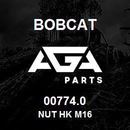00774.0 Bobcat NUT HK M16 | AGA Parts