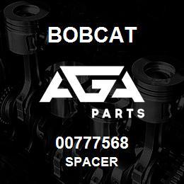 00777568 Bobcat SPACER | AGA Parts