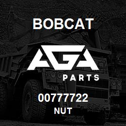 00777722 Bobcat NUT | AGA Parts