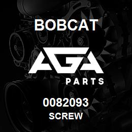 0082093 Bobcat SCREW | AGA Parts