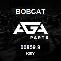 00859.9 Bobcat KEY | AGA Parts