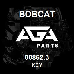 00862.3 Bobcat KEY | AGA Parts